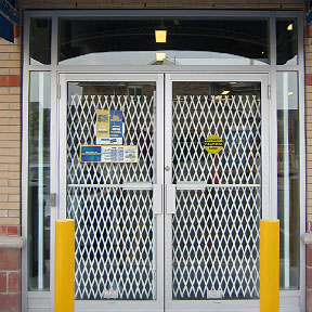front door security gates