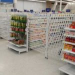 restricted access pharmacy aisles