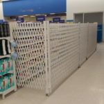 pharmacy aisle protection gates