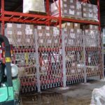 warehouse racking security