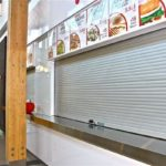 food court security shutter